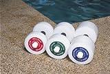 Hygenic Thera-Band Hand Aquatic Bars (PAIR), RED, LIGHT (10' X 1') PAIR # 40050