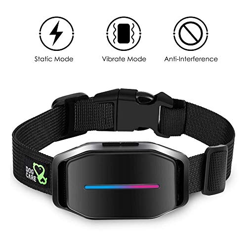 Dog Bark Collar - Effective Bark Collar for Dogs, Sound, Vibration & Automatic 7 Levels Shock Modes Training Collar w/LED Indicator, Easy to Use Dog Shock Collars