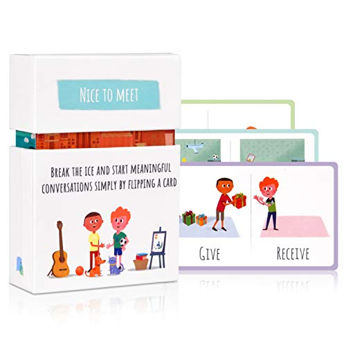 Conversation Starter Question Card Game for Kids - LOW PRICE!