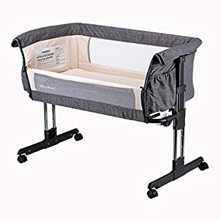 """Find """"Mika Micky"""" on Youtube to get the installation guide video. Want to sleep with your baby without disturbing each other? Mika Micky bedside sleeper can allow your baby sleep next to you without sharing the same bed. Breastfeeding in the night be..."""
