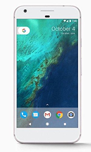 Google Pixel Phone 128 GB - 5 inch display ( Factory Unlocked US Version ) (Very Silver)