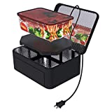 Aotto Portable Oven Personal Food Warmer for Prepared Meals Reheating & Raw Food Cooking at Work Without Using Office Microwave