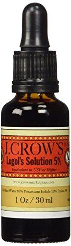 J.CROW'S Lugol's Solution of Iodine