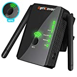 WiFi Extender 300 Mbps with WPS Internet Signal Booster - Wireless Repeater 2.4GHz Band up to 300 Mbps - Range Network Compatible with Alexa, Extends WiFi Coverage to Smart Home Devices