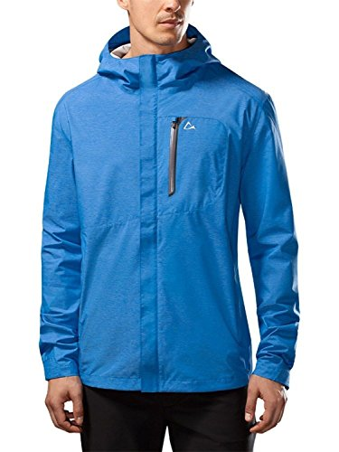 Paradox Men's Waterproof Breathable Rain Jacket Large Cobalt Blue