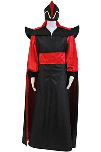 Sindnor Aladdin Jafar Villain Cosplay Costume