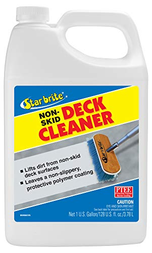 Star brite Non-Skid Deck Cleaner & Protectant - Wash Grime out of Non-Slip Surfaces & Protect from Future Stains