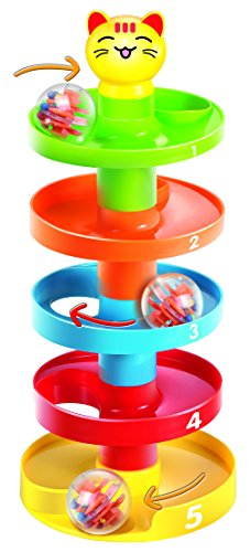 Ball Drop Toy : Cool toys swirling ball drop and roll play tower antagongame