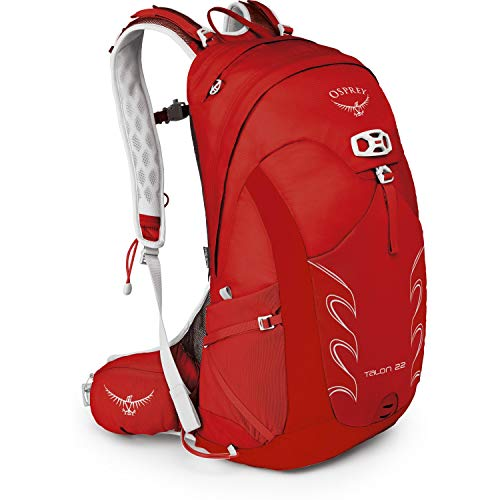 Osprey Packs Talon 22 Backpack, Martian Red, Small/Medium