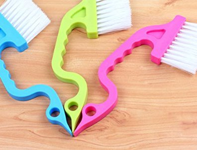Trycooling-Hand-held-Groove-Gap-Cleaning-Tools-Door-Window-Track-Kitchen-Cleaning-Brushes-Random-Color-Blue-Yellow-Pink