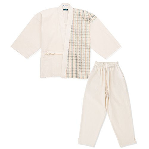 wasuian Women's Samue Design Work Clothes Wasuian Awa Shijira Large No.4