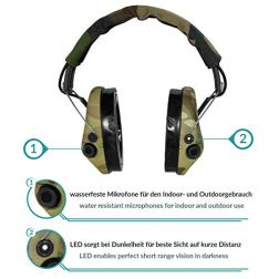 Sordin-Supreme-Pro-X-Active-Safety-Ear-Muffs-with-LED-Light-Hearing-Protection-with-Gel-Seals-Camo-Headband-and-Cups