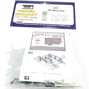 Dapol Model Railway 10T Ventilated Meat Wagon Plastic Kit – OO Scale 1/76 41jiVG4tXKL
