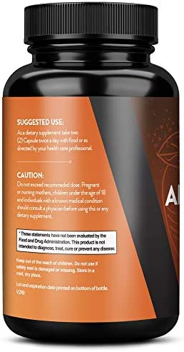 Apple Cider Vinegar Capsules, Detox and Colon Cleanse, Herbal Appetite Suppressant and Metabolism Booster Supports Natural Weight Management by Naturo Sciences 2