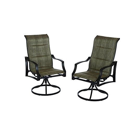 Statesville Swivel Patio Dining Chairs (2-Pack)