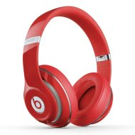 Over Ear Bluetooth Headphones in Red
