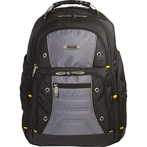 Targus Drifter II for Professional Business Commuter Backpack for 16-Inch Laptop, Black/Gray (TSB238US)