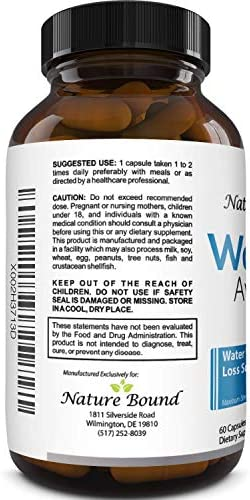 Water Pills for Bloating – Premium Weight Loss Supplement for Women and Men – Reduce Water Retention – Antioxidant Green Tea and Vitamin B6 Boost Metabolism and Energy – Maximum Strength Fat Burner 6