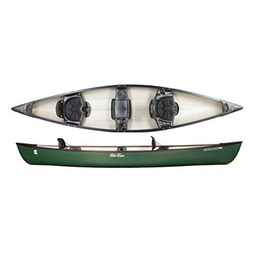 Old Town Canoes & Kayaks Saranac 146 Recreational Family Canoe, Green