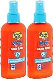 Banana Boat Sport Quik Dri Scalp Spray Sunscreen SPF30, 6 Ounces each (Value Pack of 2)