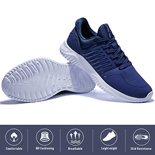 6ca5e1bdc2391 CAMEL CROWN Mens Sneakers Running Shoes Lightweight Casual Walking Training  Sports Athletic Shoes