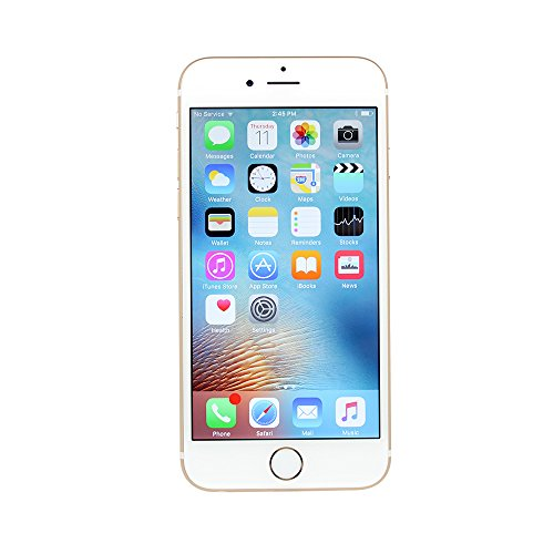 Apple iPhone 6S, Fully Unlocked, 64GB - Gold (Renewed)