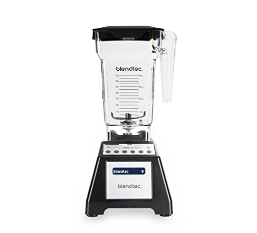 Blendtec Total Classic Original Blender - Fourside Jar (75 oz), Professional-Grade Power-6 Pre-Programmed Cycles-10… 1