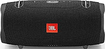 JBL Xtreme 2 Enceinte Portable - Waterproof IPX7 - Autonomie 15 hrs & Port USB - Sangle de Transport Incluse, Bluetooth, Noir