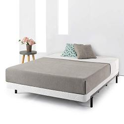 Best Price Mattress Low Profile Bi-fold Heavy Duty Box Spring/Folding Mattress Foundation/No Assembly Required – 4 inch, Twin