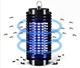 Zero in High Voltage Insect Killer (Poison-Free Bug Zapper, UV Light Lamp, Kills Flies, Midges and Mosquitoes, Home Use Electric Fly Killer),Circularinsert