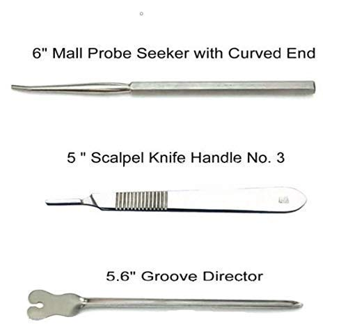 22 Pcs Superior Dissecting Package for Anatomy and Biology Medical College students with Scalpel Knife Deal with | 100% Stainless Metal Dissecting Package | Two Surgical Masks deal 50% off 41kCsoZJDHL