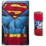 USA Official DC Comics Superman Fleece Blanket