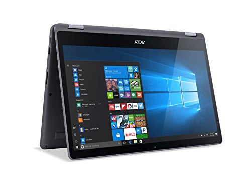 Acer Aspire R 15 Convertible Laptop, 7th Gen Intel Core i7, GeForce 940MX, 15.6' Full HD Touch, 12GB DDR4, 256GB SSD, R5-571TG-7229