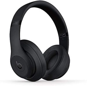 Beats Studio3 Wireless Noise Cancelling Over-Ear Headphones – Apple W1 Headphone Chip, Class 1 Bluetooth, 22 Hours of Listening Time, Built-in Microphone – Matte Black (Latest Model)