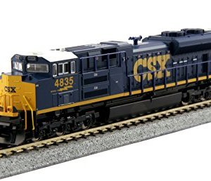 Kato USA 176-8436 Number 4835 N EMD SD70ACe CSX Train 41kMM2ew9JL