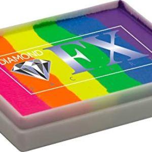 Diamond FX 50g Split Cake Face Paint ~ Neon Nights (RS50-7) 41kOY93mLkL