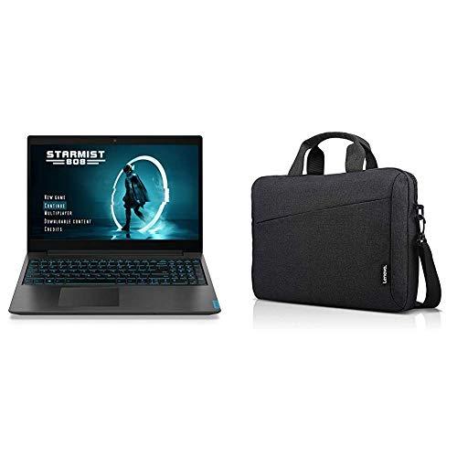 Lenovo-Ideapad-L340-Gaming-Laptop-156-Inch-FHD-1920-X-1080-IPS-Display-81LK00HDUS-Black-with-Lenovo-Laptop-Shoulder-Bag-T210-156-Inch-Laptop-GX40Q17229-Black-Bundle