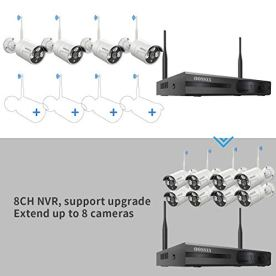 60-Days-StorageExpandable-8CHWireless-NVR-Security-Camera-System-Outdoor-With-2TB-Hard-Drive-Wireless-CCTV-Video-Surveillance-Wifi-Camera-Systems-With-DVR4Pcs-1080P-Wireless-IP-Cameras-with-Audio