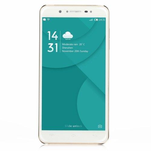 DOOGEE F7 32GB 5.5 Inch Android 6.0 Smartphone, MTK6797 (Helio X20) Deca Core, 3GB RAM GSM & WCDMA & FDD-LTE (White)