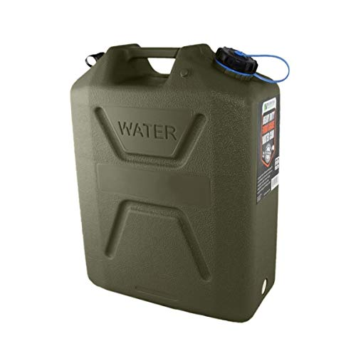 '22 Litre Heavy Duty Food Grade Water Can, Green