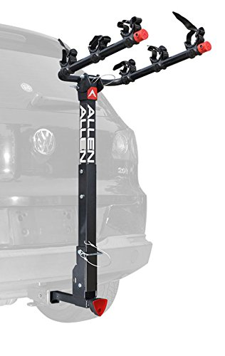 Allen Sports Deluxe Locking Quick Release 3-Bike Carrier for 2 in. & 1 4 in. Hitch, Model 532QR