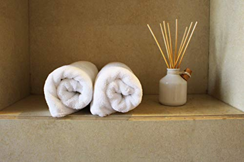 Heelium Bamboo Hand Towel for Sports & Gym, Ultra Soft, Super Absorbent, Antibacterial, 600 GSM, 25 inch x 15 inch, Pack of 2 3