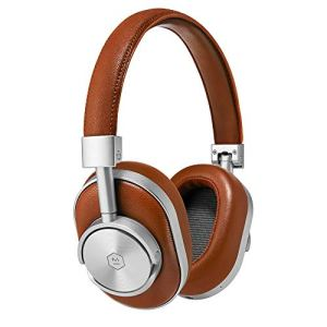 Master & Dynamic MW60S2 Wireless Bluetooth 4.1, Over-Ear, Closed Back Headphones with Superior Sound Quality and Highest Level of Design 45mm Neodymium Driver. Premium Brown Leather
