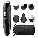 Remington PG6025 All-in-1 Lithium Powered Grooming Kit, Beard Trimmer (8 Pieces)