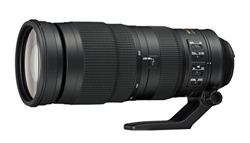 Nikon AF-S FX NIKKOR 200-500mm f/5.6E ED Vibration Reduction Zoom Lens with Auto Focus for Nikon DSLR Cameras
