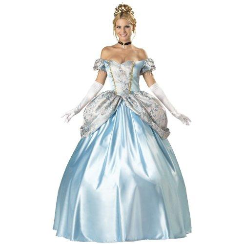 InCharacter Costumes, LLC Women's Enchanting Princess Costume, Blue, Large