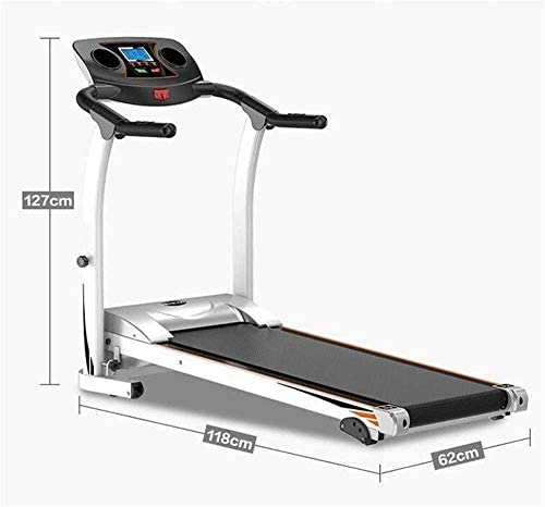 SMQHH Treadmills Cardio Training, Folding Treadmill Electric Treadmill with Cup Holder, Portable Treadmill Easy Storage 2
