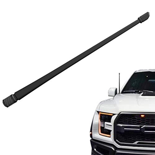 Rydonair Antenna Compatible with Ford F150 2009-2019 | 13 inches Flexible Rubber Antenna Replacement | Designed for Optimized FM/AM Reception
