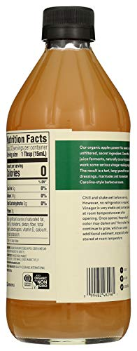 365 by Whole Foods Market, Organic Vinegar, Apple Cider - Raw, 16 Fl Oz 4