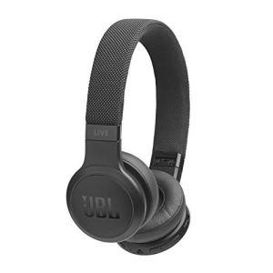 JBL Live 400BT Wireless On-Ear Voice Enabled Headphones with Alexa (Black)